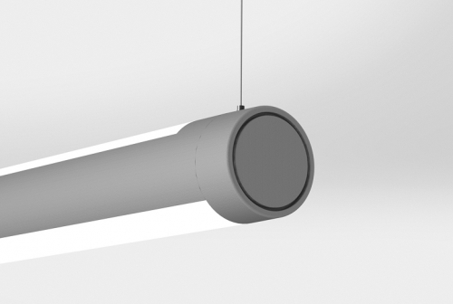 AR300 Suspended Indirect/Direct with Flat End Cap