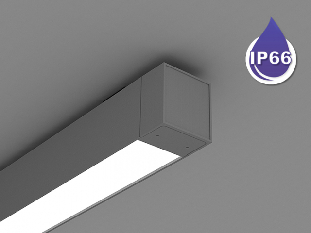 Microlinea Series 3 Wet Location Ceiling Mount - Direct