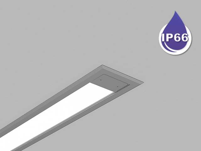 Microlinea Series 3 Wet Location Recessed Mount - Direct