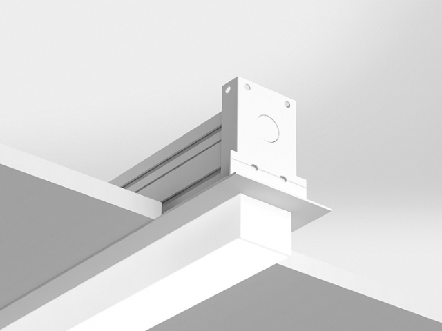 Microlinea Recessed Series 2 - Overlap Flange with 1.375 Accent Lens