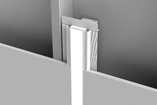 Mircolinea Recessed Series 2 Vertical Wall with Spackle Flange