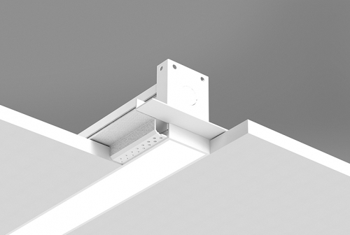 Microlinea Recessed Series 2 with Spackle Flange