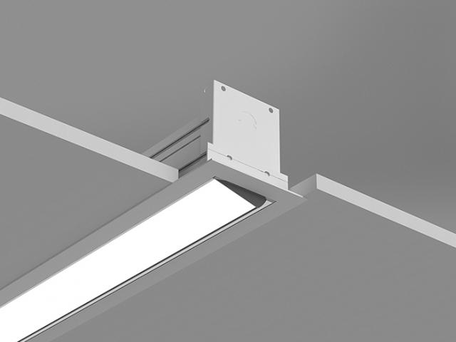 Microlinea Recessed Series 3 Wall Wash - Overlap Flange