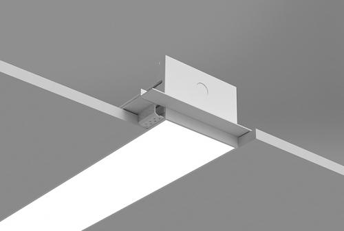 Microlinea Recessed Series 5 - Drywall Spackle Flange