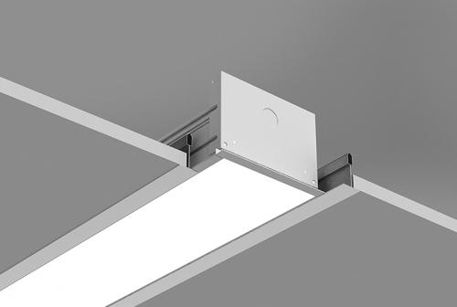 Microlinea Recessed Series 5 - Flush Tile Ceiling