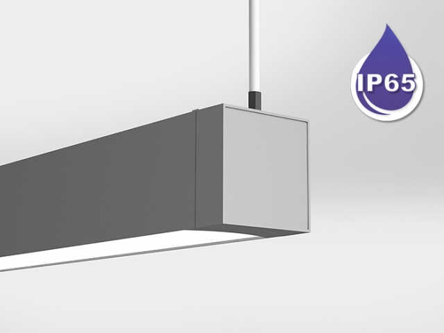 Microlinea Series 5 Wet Location Suspended Mount - Indirect/Direct