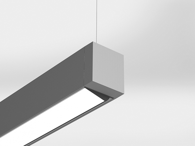 Microlinea Suspended Mount Series 3 Direct Wall Wash