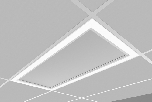 Microquad Recessed 2 X 4 with Accent Lens
