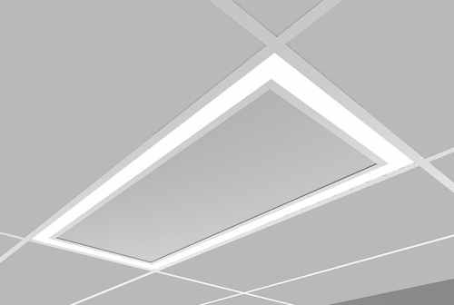 Microquad Recessed 2 X 4 with Flush Lens