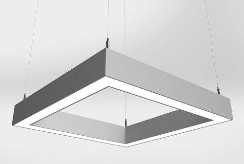 Microquad Suspended Series Direct with Flush Lens