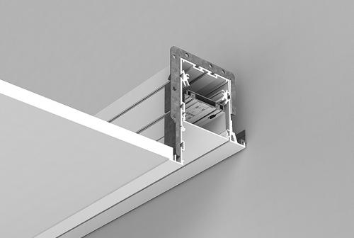 Perimeter System 3 Recessed Series - Overlap Flange