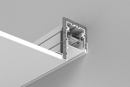 Perimeter System 3 Recessed Series - Spackle Flange