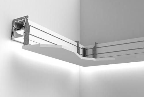 Perimeter System 3 – 90 Degree Horizontal Inside Miter Corner