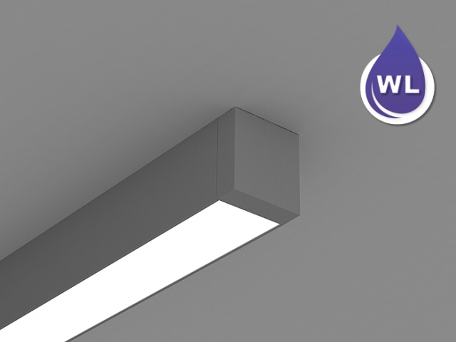 Microlinea Ceiling Mount Direct Series 3 Wet Location
