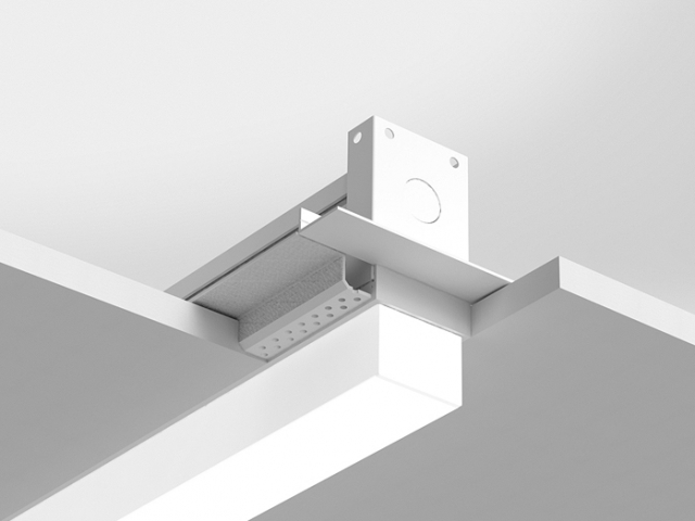 Microlinea Recessed Series 2 - Spackle Flange with 1.375 Accent Lens