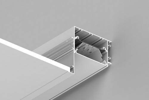 Perimeter System 5 Recessed Series – Overlap Flange