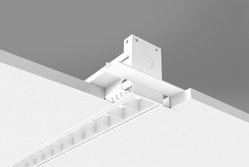 QuadraCel Recessed Series - Spackle Flange